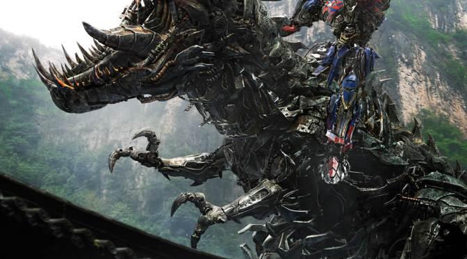 Optimus y Grimlock imponentes en el nuevo póster de 'Transformers: La Era de la Extinción'