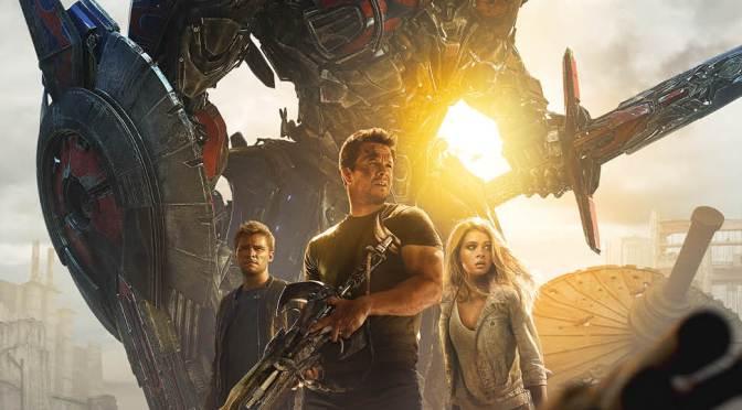 Optimus y Mark Wahlberg bien armados en el nuevo póster de 'Transformesr: La Era de la Extinción'; mañana nuevo avance