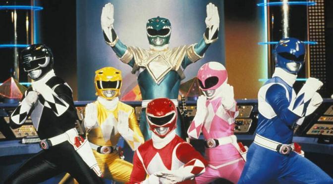 Película de los Power Rangers llegará en julio de 2016