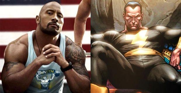 Dwayne Johnson será Black Adam en película de Shazam