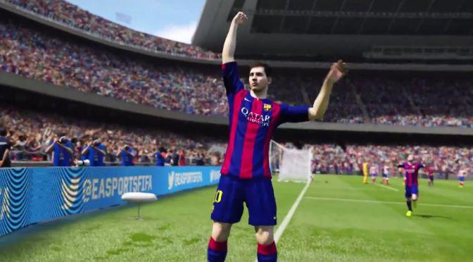 Conoce algunas de las nuevas celebraciones de FIFA 15 con este tutorial