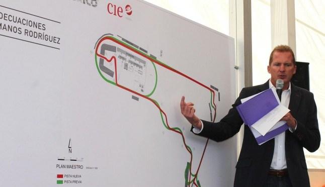 El circuito del Autódromo Hermanos Rodríguez será el segundo más rápido en la F1