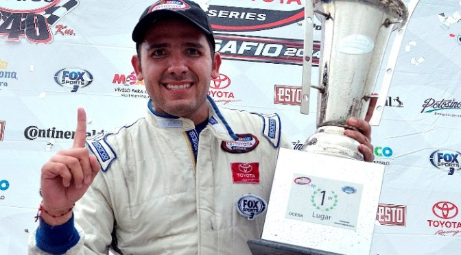Rubén Rovelo conquista Chiapas y se espera un gran final en la NASCAR Toyota Series