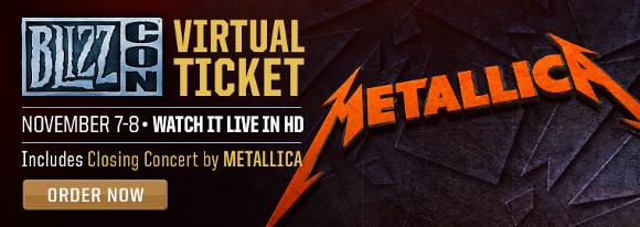 Metallica en vivo desde la BLIZZCON 2014