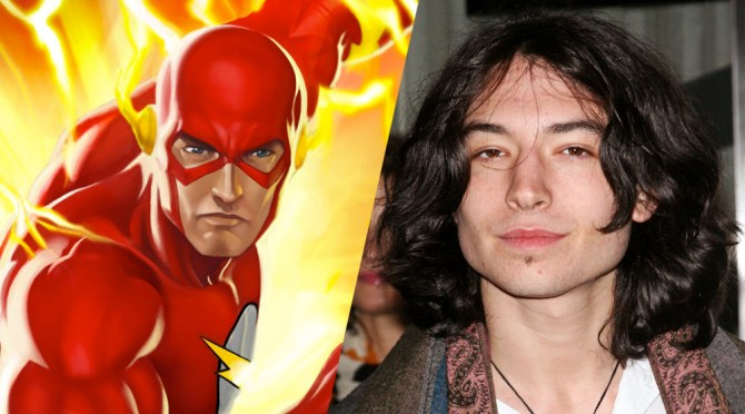 Ezra Miller será 'The Flash' y Jason Momoa será 'Aquaman'