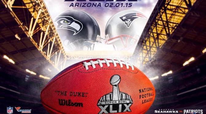 Seahawks vs Patriots al Super Bowl XLIX