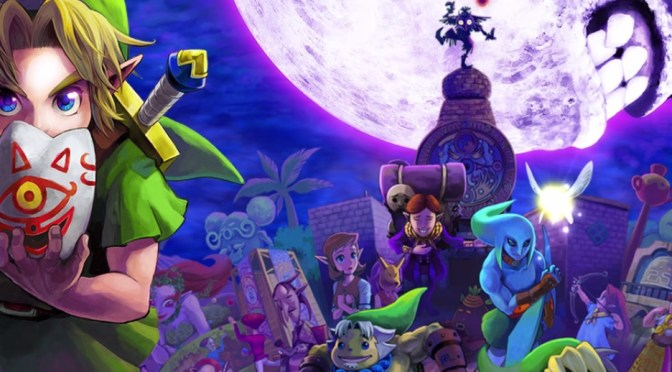Disfruta 1 hora de Gameplay de The Legend of Zelda Majora's Mask 3D