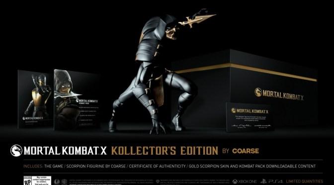 Detalles de la Kollector's Edition de Mortal Kombat X y sus otras versiones