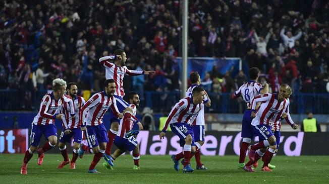 Mónaco cae y Atleti en penales avanza a los Cuartos de Final de la Champions League