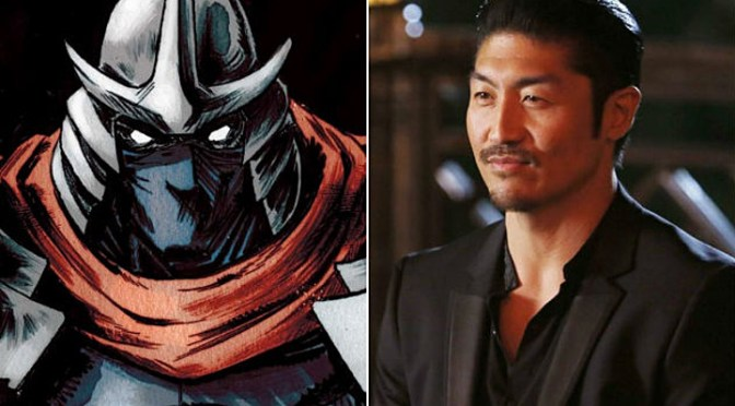 Brian Tee será Shredder en 'Teenage Mutant Ninja Turtles 2'