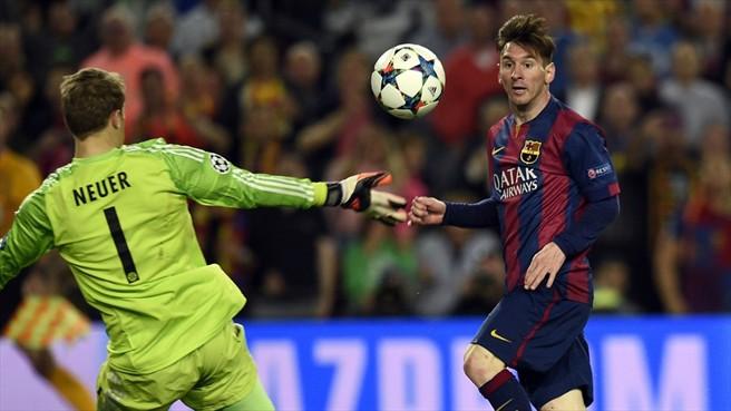 Messi y Barcelona se ponen en ventaja ante el Bayern en la semifinal de Ida de la Champions League
