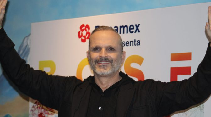 "Miguel Bosé llega a México para presentar su nueva gira ""Amo Tour"""