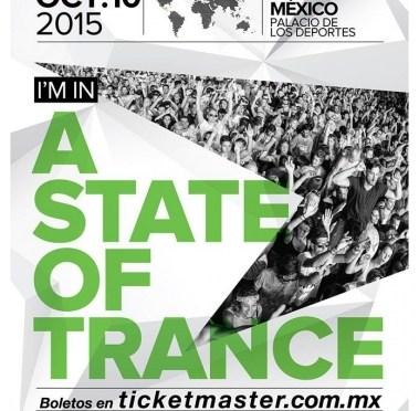 STATE OF TRANCE FESTIVAL llega a México el próximo mes de Octubre