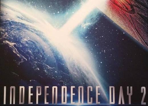 La Tierra está por ser destruida en el primer póster de 'Independence Day 2'