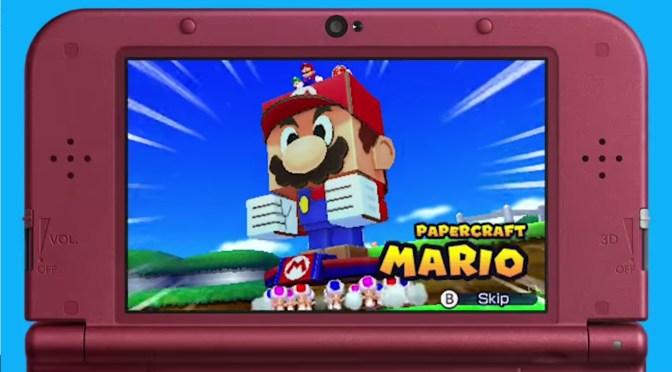 Paper Mario y Mario se unen en Mario Paper Jam