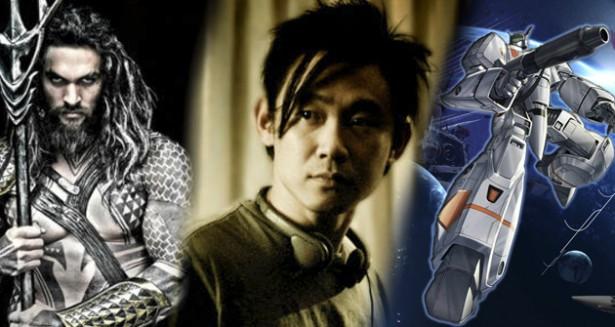 Mechas y Super-héroes para James Wan! Se confirma que dirigirá el fime de Robotech y Aquaman
