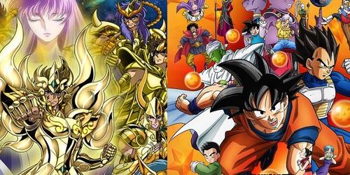 ¡Dragon Ball Super y Saint Seiya: Soul of Gold para Latinoamérica!