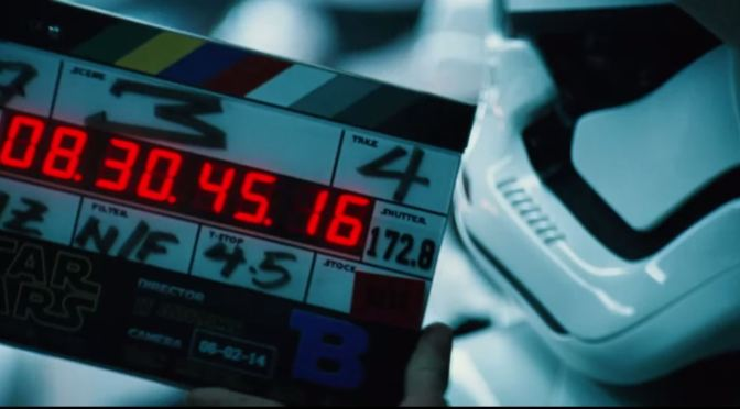 [Comic-Con] Video detrás de cámaras de 'Star Wars: The Force Awakens'