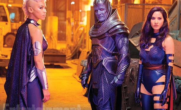 Nuevas imágenes de 'X-Men: Apocalypse' nos dan un primer vistazo a Psylocke, Storm y Apocalypse
