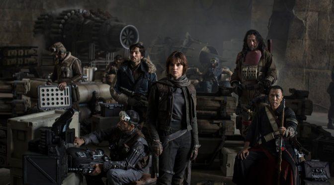 La arriesgada misión ha comenzado. Primera imagen de 'Star Wars: Rogue One'
