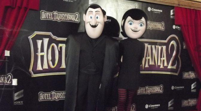 Polanco se llenó de monstruosas celebridades en la alfombra roja de Hotel Transylvania 2