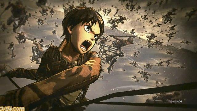 [TGS 2015] Nuevo tráiler del próximo juego de Shingeki no Kyojin