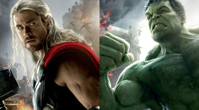 El gigante esmeralda Hulk aparecerá en Thor: Ragnarok