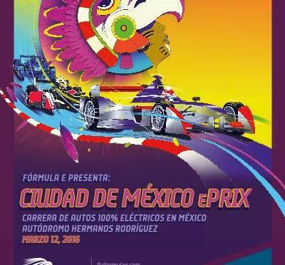 Se confirma la primera edición del FÓRMULA E MEXICO CITY ePrix en el Autódromo Hermanos Rodríguez