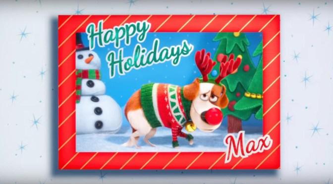 ¡Felices fiestas! Mira el nuevo tráiler de La Vida Secreta de tus Mascotas