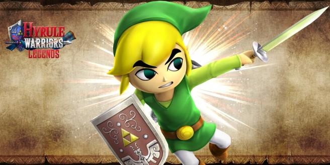 Así pelea Toon Link en Hyrule Warriors Legends