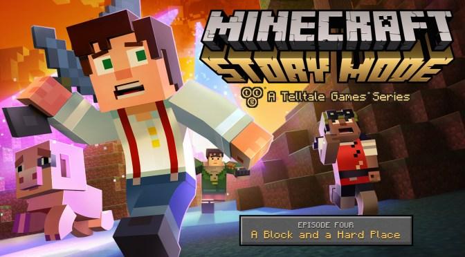 "La aventura está por terminar, llega el tráiler de Minecraft: Story Mode – Ep. 4 ""A Block and a Hard Place"""