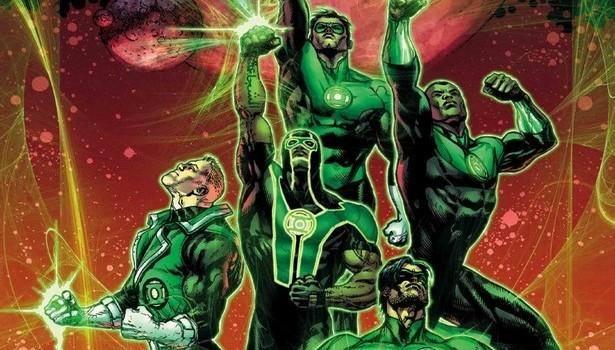 Green Lantern Corp's será parte de la Liga de la Justicia