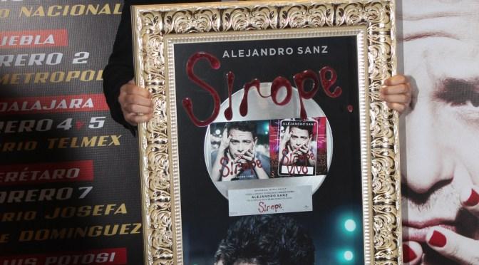 Alejandro Sanz ya está en México con su gira Sirope