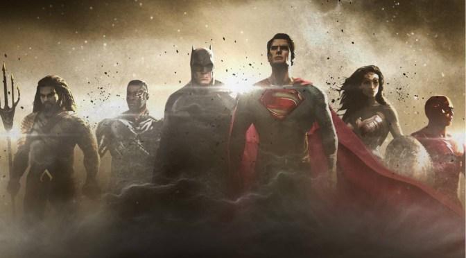 Primer arte conceptual de Justice League reúne al equipo de superhéroes