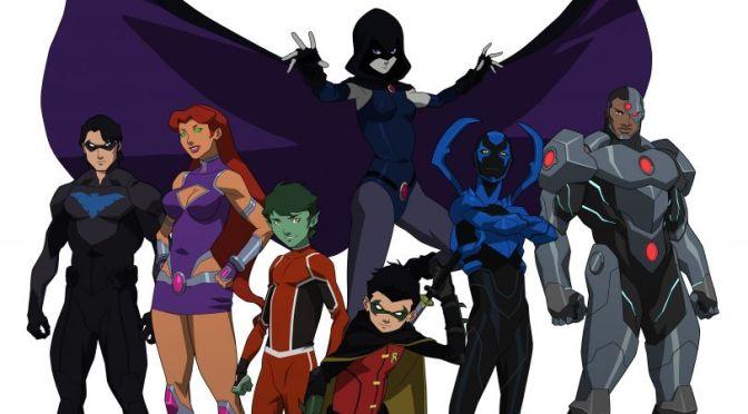 Nunca se es muy joven para salvar al mundo. Primer tráiler de Justice League vs Teen Titans