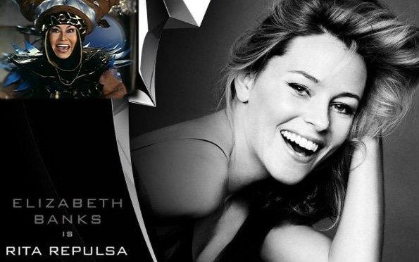 Elizabeth Banks será Rita Repulsa en la película de los Power Rangers