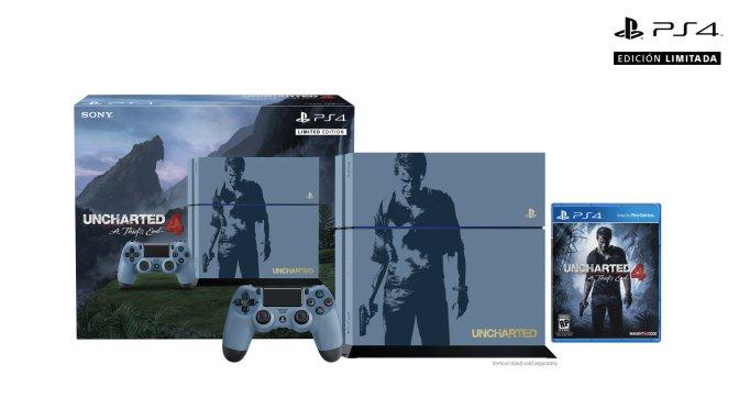 Van a querer comprarse este PS4 edición limitada de Uncharted 4