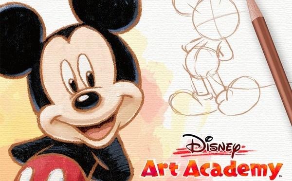 Disney Art Academy llega a tu 3DS
