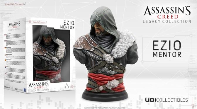 Chécate estas preciosas figuras oficiales de Assassin's Creed