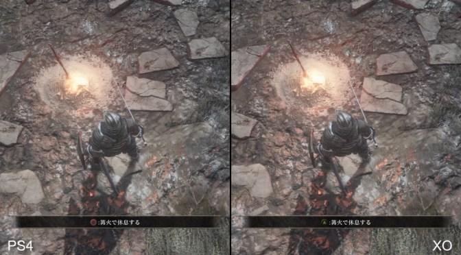 Checa la comparación en pixeles, sombras y cuadros por segundo de Dark Souls III en Xbox One y PS4