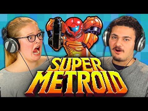 Mira como los adolescentes reaccionan a Super Metroid
