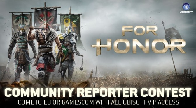 Viaja al E3 2016 cortesía de Ubisoft y For Honor
