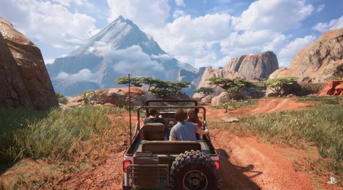 Checa como funciona el mundo abierto pero historia lineal de Uncharted 4 en estos 20 minutos de Gameplay