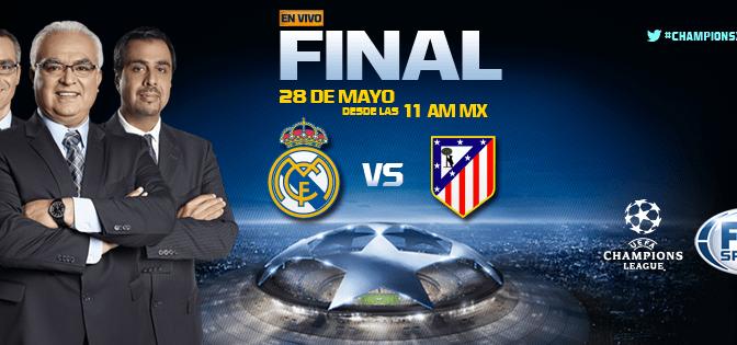 La final de la UEFA Champions League en vivo por FOX Sports y FOX Play