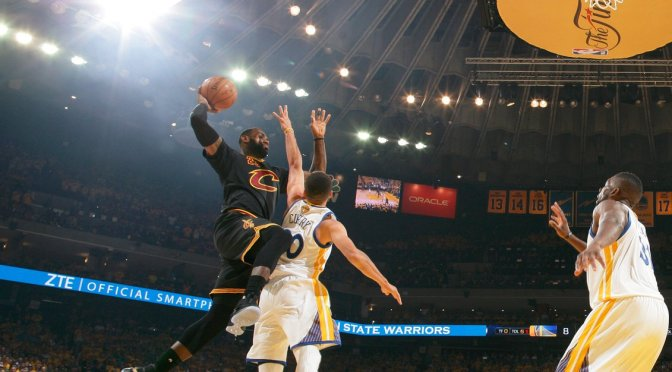 LeBron y los Cleveland Cavaliers se proclaman campeones de la NBA