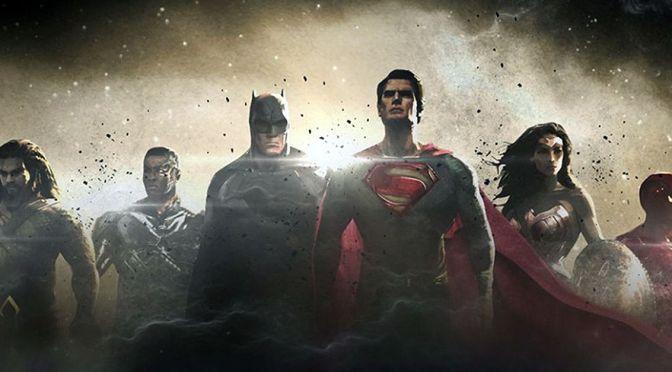 Logo y sinopsis oficial de la película de Justice League