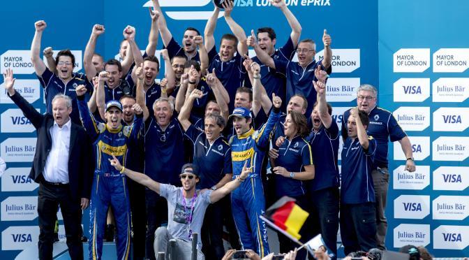 Sebastien Buemi se consagra como nuevo Campeón de la Fórmula E