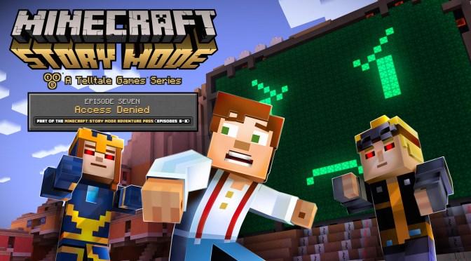 """<span class=""""entry-title-primary"""">El séptimo episodio de Minecraft: Story Mode llega la próxima semana</span> <span class=""""entry-subtitle"""">¡Una computadora malvada quiere controlar a todos!</span>"""