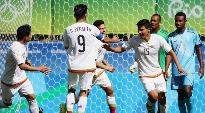 México goleó a Fiyi en los Juegos Olímpicos