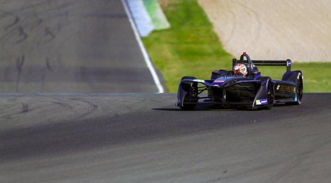 Jean-Eric Vergne establece nuevo récord en Donington Park en el segundo día de pruebas en la Fórmula E
